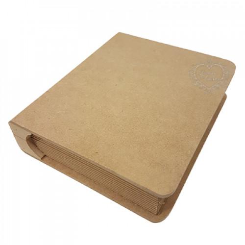 Caixa Livro P - 15x18,6x5 cm