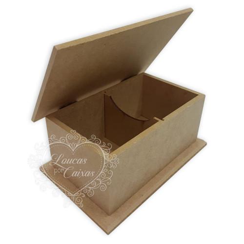 Caixa de Chá 2 divisórias 12x18,8,4