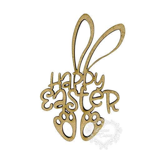 Happy Easter Coelho- M - 2 Un