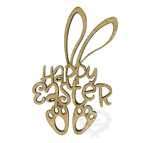 Happy Easter Coelho- G - 2 Un