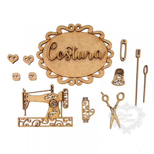 Kit costura - workshop Tania Marquato