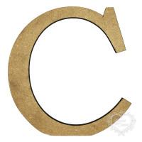 Letra C 12cm alt. 18mm..