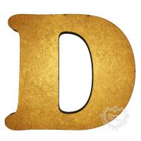 Letra D 20cm alt. 18mm..