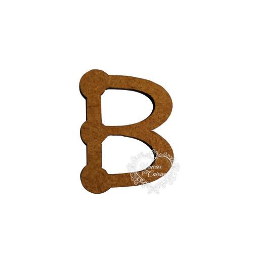 Letra em MDF - 1,5 cm  Keramik - B