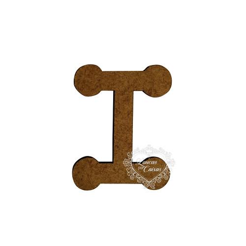 Letra em MDF - 1,5 cm  Keramik - I