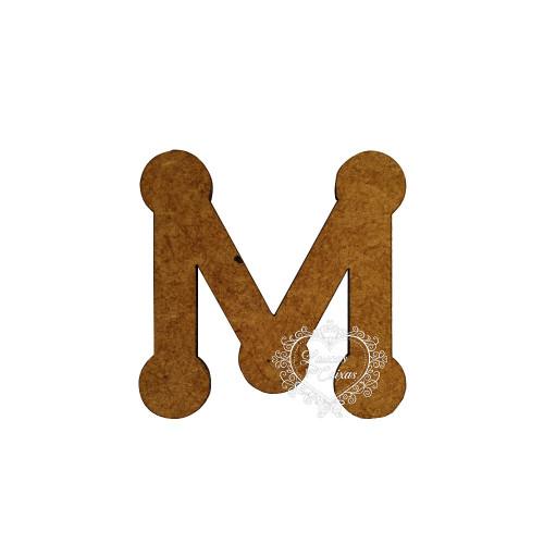 Letra em MDF - 1,5 cm  Keramik - M