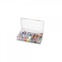 Caixa Organizadora Plástico com 16 Compa..