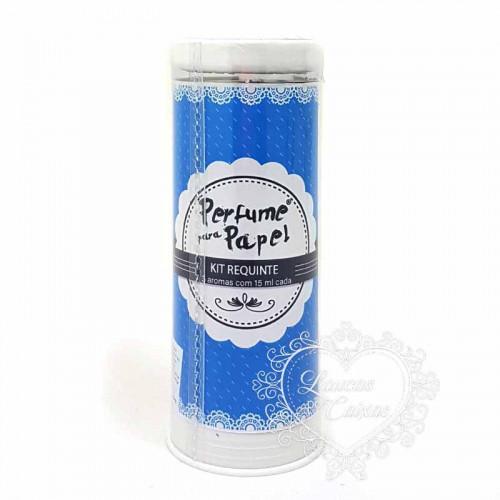 Perfume para Papel com 3 aromas - kit Requinte