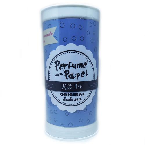 Perfume Para Papel Com 5 Aromas - Kit 14