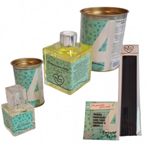 Combo Perfume Para Artesanato 4 - MELISSINHA - Edição Colecionador