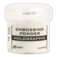 Pó para embossing HOLOGRAPHIC..