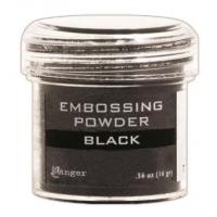 Pó para embossing Black..