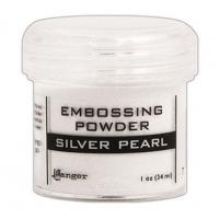 Pó para embossing Silver Pearl..