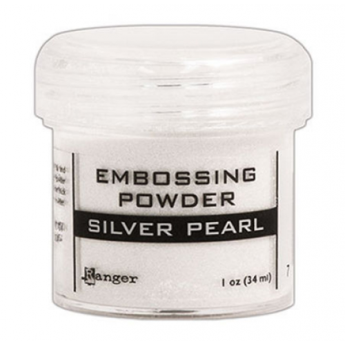 Pó para embossing Silver Pearl
