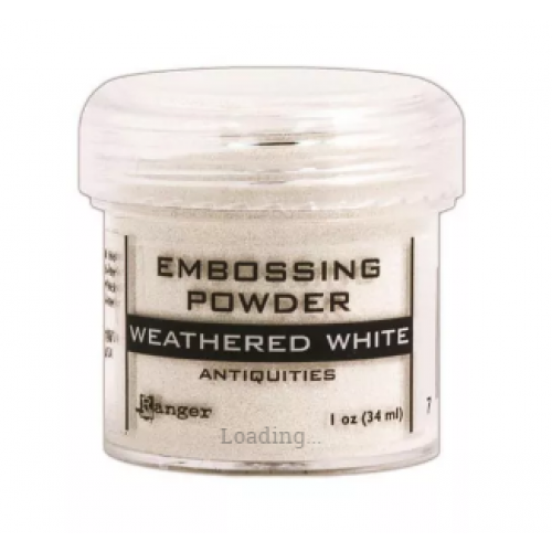 Pó para emboss Antiquities - Weathered White