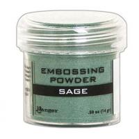 Pó para embossing Sage..