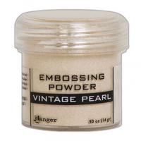 Pó para embossing Vintage Pearl..