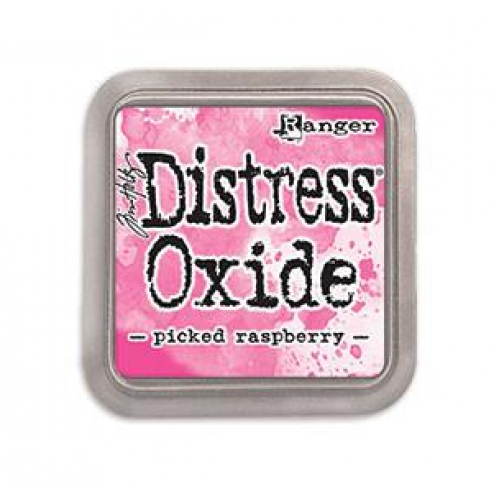 Carimbeira Distress Oxide - Picked Raspberry