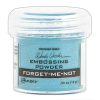 Pó para embossing azul FORGET-ME-NOT..