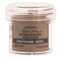 Pó para embossing Potting Soil..