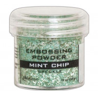 Pó para embossing Speckle Mint Chip..