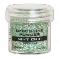 Pó para embossing Speckle Mint Chip..