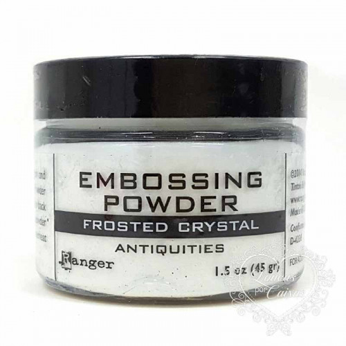 Pó para embossing Frosted Crystal Antiquities - 45ml