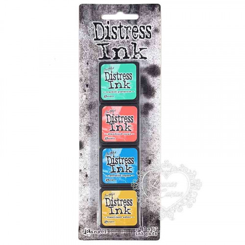 Carimbeira Distress - 4 Mini Pad #13 - 254X254mm