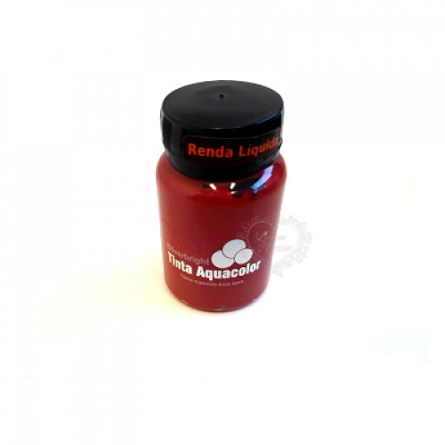 Renda Líquida Metálica Silverbright - Vermelho Dara