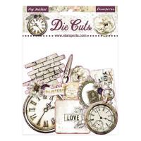 Die cut - Romantic Journal..