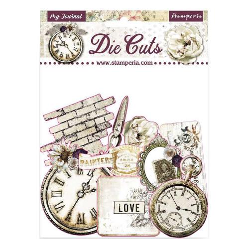 Die cut - Romantic Journal