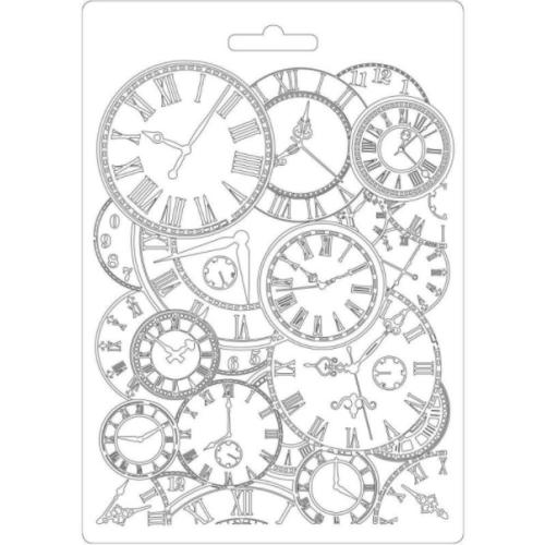 Molde de Plástico - Soft Mould Clocks A5