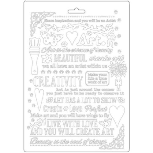 Molde de Plástico - Soft Mould Atelier Writing A5