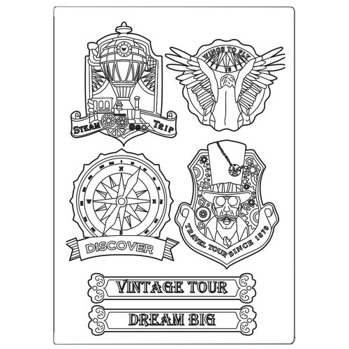 Molde de Silicone Sir Vagabond Vintage Tour