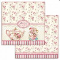 Papel Scrapbook Cup Of Tea, Sweety - Sta..