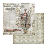 Papel Flyn Ship - Lady Vagabound - Stamp..