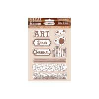 Carimbo Art - Atelier - 14x18 cm - Cling..