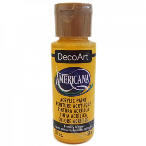 Tinta Decoart Americana Primary Yellow