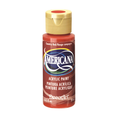 Tinta Decoart Americana Country Red
