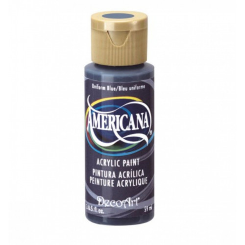 Tinta Decoart Americana Uniform Blue