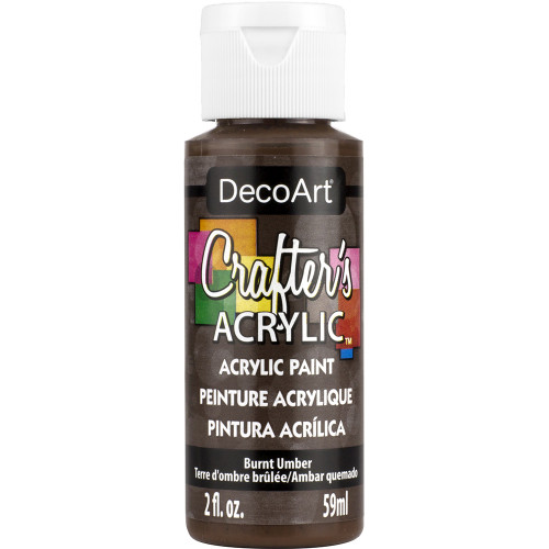 tinta decoart crafters burnt umber - 118ML