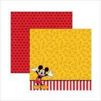 Papel 180g Dupla Face Mickey 03 - 30.5 x..