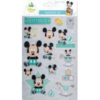 Adesivo Baby Mickey 3D..