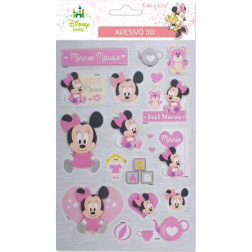 Adesivo Baby Minnie 3D