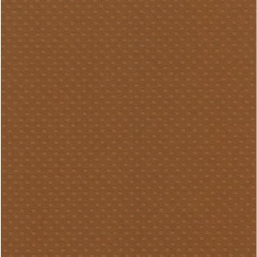 Papel  Scrap Cardstock Bolinhas Ii Argila 30,5X30,5 Cm