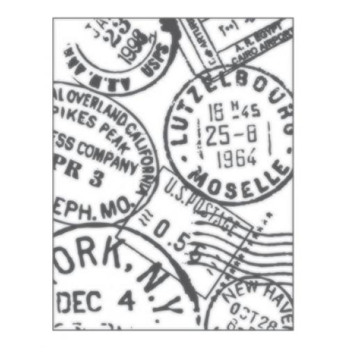 Placa para Relevo 2D - Selos - 11x14,5