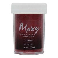 Pó para Emboss Moxy Glitter Crimson..