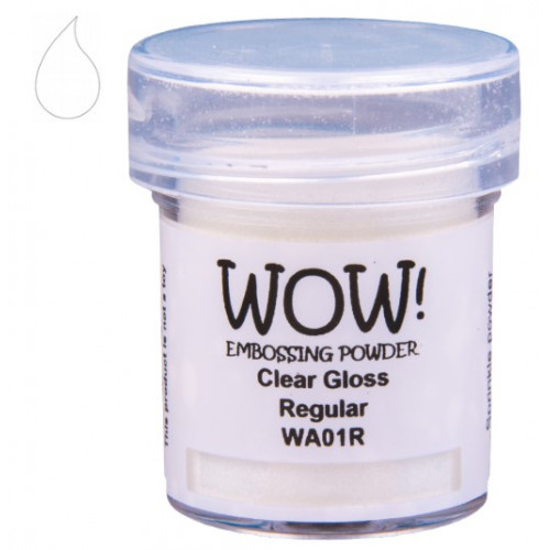 Pó Emboss - WOW! - Clear Gloss Regular