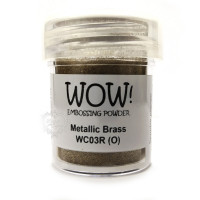 Pó Emboss - WOW! - Metallic Brass..