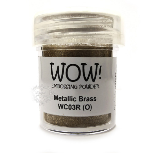 Pó Emboss - WOW! - Metallic Brass